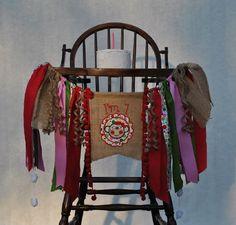 Birthday Banner-First Birthday Banner-Custom Birthday Banner-Girl Monkey Birthday Banner by SewingCelebrations on Etsy