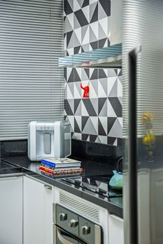 5 azulejo geometrico na cozinha projeto studio ninho