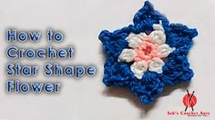How to Crochet Star Flower
