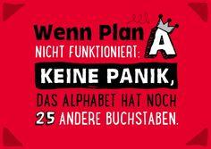 Keine Panik   Motivation   Echte Postkarten online versenden   Gutsch Verlag