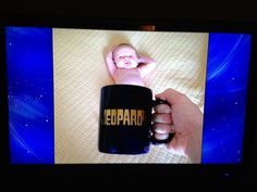 Baby Mugging makes its Jeopardy debut Silly Me, Better One, New Trends, Picture Ideas, Lisa, About Me Blog, This Or That Questions, Mugs, Shorts