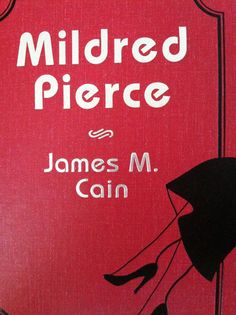 "Books about Los Angeles: ""Mildred Pierce"" by James M Cain"