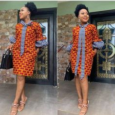 African dress - 2019 Lovely Ankara short Gown Styles for Pretty Ladies African Fashion Ankara, Latest African Fashion Dresses, African Dresses For Women, African Print Dresses, African Print Fashion, African Attire, African Women, Modern African Dresses, African Hair