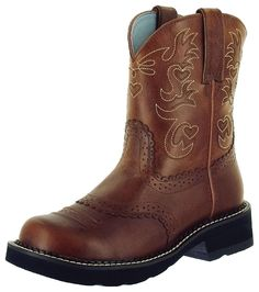 This is my favorite pair of Ariat Fatbaby boots! Sooo comfy and cute!