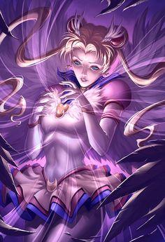 Eternal Sailor Moon Senshi by Quirkilicious