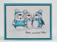 My Noteworthy Cards: Have a Cool Yule!