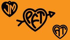 Heart Monograms