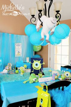 "Photo 1 of 59: monsters university / Back to School ""Monsters University Pre-Scare School"" 
