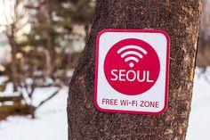 Seoul Free Wi-Fi Zone by stuckinseoul, via Flickr