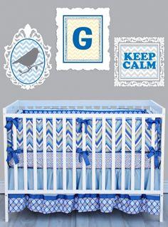 Caden Lane Gage 3 Piece Crib Bedding Set at DadaBabyBoutique.com