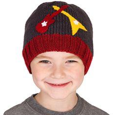 "Zooni Boys Handmade ZZ Rock Guitar Knit Hat - Zooni - Babies ""R"" Us"