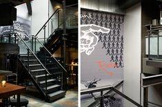MOJO´S Eatertainment http://www.estida.nl/portfolio-posts/mojos-eatertainment-alkmaar/ #design #interior #ESTIDA