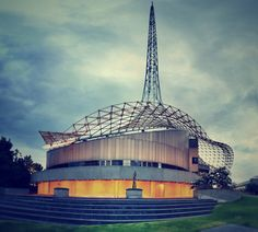 Melbourne's famous Arts Precinct is where the hop-on, hop-off bus tour starts from...  by AdrianMalec, via Flickr