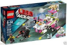 LEGO The LEGO Movie 70804 Ice Cream Machine NEW Factory Sealed