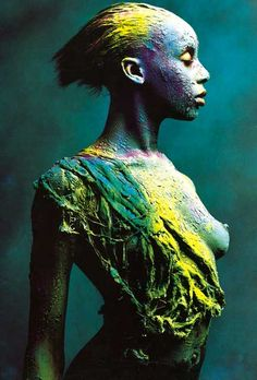 kb, 434 x 640 Digital Portrait, Portrait Art, Skin Wars, Abstract Face Art, Shooting Photo, Human Art, Fantastic Art, Woman Painting, Erotic Art
