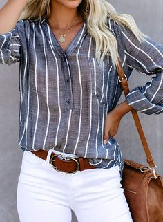 Blue Crisp Air Button Down Embroidered Top, Blouses & Shirts, Wholesale Blouses & Shirts, Affordable Blouses & Shirts Roll Up Sleeves, Shirt Outfit, Long Sleeve Tops, Outfits, Clothes, Blouse Online, Relax Relax, Women Sleeve, Tunic Blouse