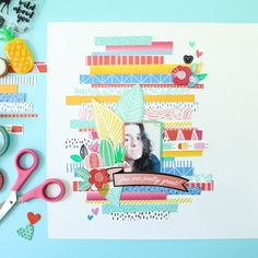 Anyone else out there loves brandind strips like I do? Sometimes I really love patterns on branding strips that don't even exist as a full 12x12 paper (so freaking unfair!). I had some fun with branding strips and washi tape from @amytangerine On a Whim collection. You can watch the process video on my YouTube channel (search Zinia Amoiridou). #scrapbook #scrapbooking #memorykeeping #scrapbookprocess #scrapbookingprocess #scrapbooklayout #scrapbookinglayout #scrap #ziniaamoiridou…