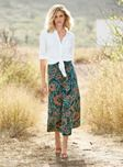 Additional view of China Blossom Pima Cotton Skirt