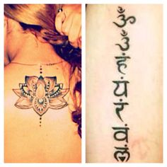 @Brandy Rea  this is the tattoo I want on my 18th birthday. Lotus where it is in the picture and the 7 chakras down my spine.