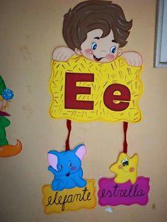 Paper Piecing Patterns, Spanish Lessons, Montessori, Art For Kids, Alphabet, Preschool, Classroom, Art Prints, Education