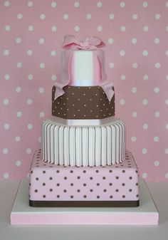 Zoe Clark Cakes - Gift box wedding cake