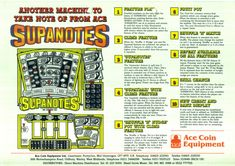 Supanotes by Ace Coin Coins, Comic Books, Letters, Fruit, Classic, Derby, Coining, Rooms, Letter