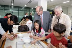 The Ambassador of Finland visiting the Cheongju International Craft Biennale, South Korea