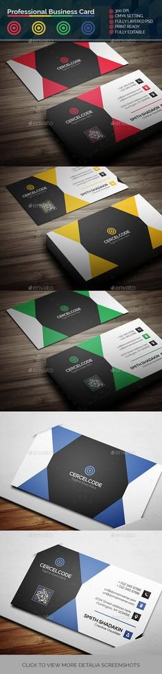 Professional Business Card Template PSD. Download here: https://graphicriver.net/item/professional-business-card/17384720?ref=ksioks