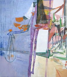 Amy SillmanThe Plumbing, 2006. Oil on canvas 80 x 69 inches 203.2 x 175.3 cm