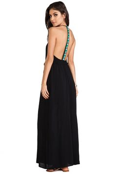 WOODLEIGH EXCLUSIVE Veve Maxi Dress in Black   REVOLVE
