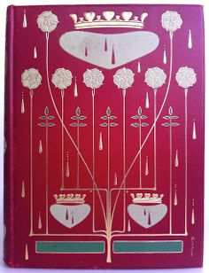 Queen Victoria, Her Life and Reign by Thomas Archer and Amelia Hutchinson Stirling, London: The Gresham Publishing Company, 1901, 1st. edition in 4 volumes binding design by Talwin Morris Beautiful Antique Books