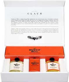 Musgo Real Grooming Boxed Set - Orange Amber