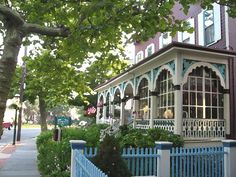 Cape May NJ..... preserved victorian town.... lovely!