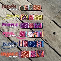 Monogrammed Aztec Headbands!  https://www.etsy.com/listing/230751598/custom-vinyl-monogram-aztec-headband?ref=listings_manager_table