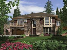 Contemporary Style Homes, Contemporary House Plans, Contemporary Design, Split Foyer, Split Entry, Traditional House Plans, Level Homes, Construction, House Floor Plans