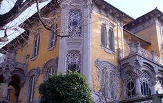 Sulla collina di Torino, nel quartiere di Borgo Po, si trova uno degli altri splendidi esempi di liberty italiano progettati dall'ingegner Pietro...