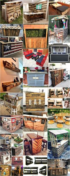 creative ideas for wooden pallet reusing and recycling