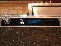 "MLB - Los Angeles Dodgers Drink Mat 3.25""""x24"""""