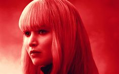 Download wallpapers Dominika Egorova, 4k, 2018 movie, Red Sparrow, Jennifer Lawrence