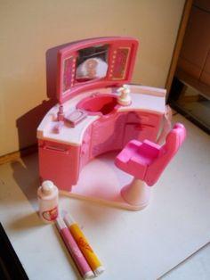 Barbie Salon De Belleza Set De Peluqueria Mattel 1983