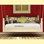 Swing bed.  Love!