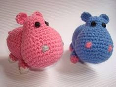 hipopotamo amigurumi patron -