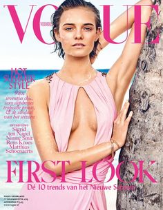 awesome Nimue Smit covers Vogue Netherlands July 2015 shot by Marc de Groot  [Cover]