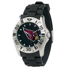 Officially licensed Arizona Cardinals NFL football watch.