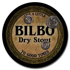 Bilbo Beer - 4 pack Rubber Drink Coasters ZuWEE http://www.amazon.com/dp/B00PZ8S2F2/ref=cm_sw_r_pi_dp_pvcoxb1YJR0MW