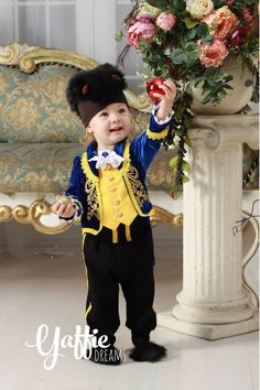 Yaffie Dreams cute little baby beast halloween costume for boy Disney Beauty and The Beast adorable baby outfit nice Halloween costume cosplay #disney #beautyandthebeast #beast #cosplay #halloween #halloweencostume #baby #adorable Christmas #christmas beatiful costume Disney style little kid beauty and the beast party ideas gift