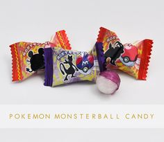 Pokeball Candy! Guess the Pokemon, with answers under the flap.  - Skoshbox.com