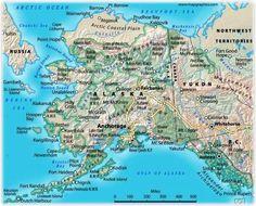 49 best Alaska maps images on Pinterest | Alaska travel, Maps and ...