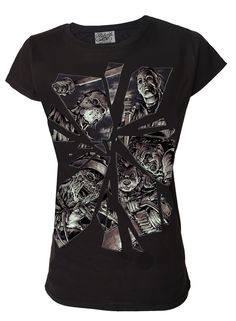 Darkside - Horror Mirror Womens T Shirt