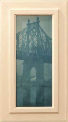 Bridge - toned silver gelatin print in an artist made frame - www.jeffersonhayman.com